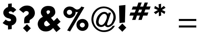 Kabel Book Font OTHER CHARS