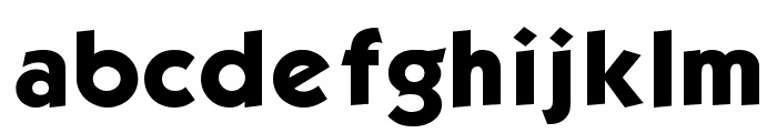 Kabel Book Font LOWERCASE