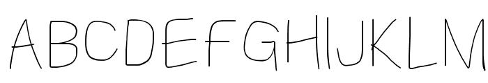 Kabina Bold Font UPPERCASE