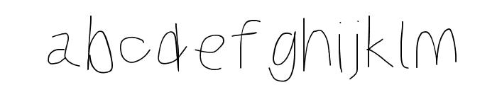Kabina Bold Font LOWERCASE