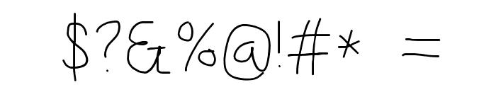 Kabina SemiBold Font OTHER CHARS