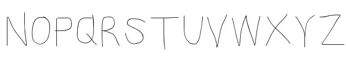 Kabina SemiLight Font UPPERCASE