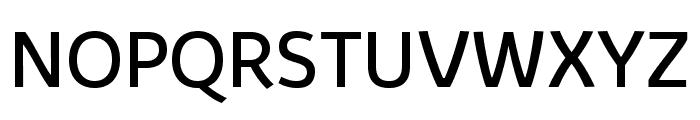 Kabrio Font UPPERCASE