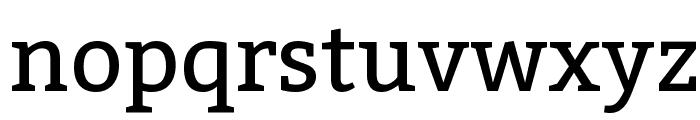 Kadwa Font LOWERCASE