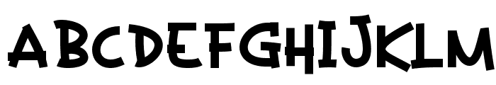 Kaeden Bold Font UPPERCASE