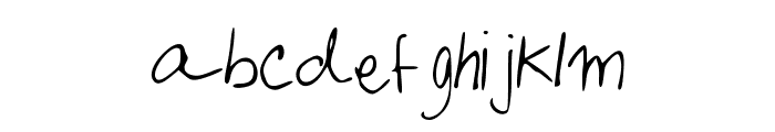 KafeisCaf Font LOWERCASE