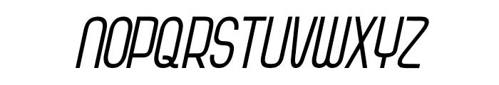 Kagura Italic Italic Font UPPERCASE