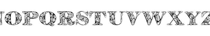 KahirPersonalUse Regular Font UPPERCASE