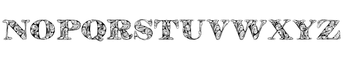 KahirPersonalUse Regular Font LOWERCASE