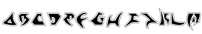 Kahless Pro Font LOWERCASE