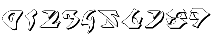 Kahless Shadow Font OTHER CHARS