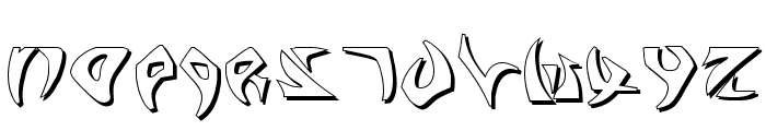 Kahless Shadow Font UPPERCASE