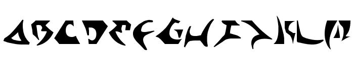 Kahless Font LOWERCASE