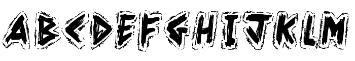 Kahuna Island Font LOWERCASE