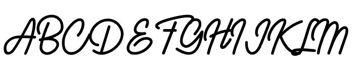 Kaibon Font UPPERCASE