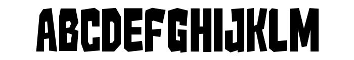Kaiju Monster__G Font UPPERCASE