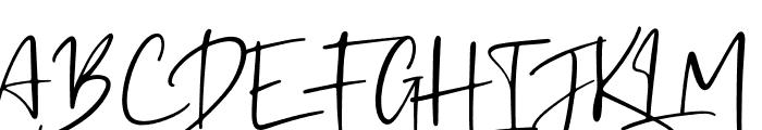 Kaileigh Font UPPERCASE