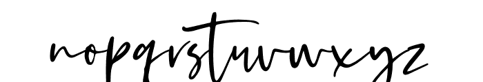 Kaileigh Font LOWERCASE