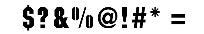 Kaiser Font OTHER CHARS