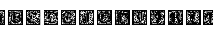 KaiserRotbartOneCaps Font UPPERCASE