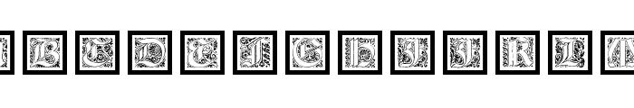 KaiserRotbartOneCaps Font LOWERCASE