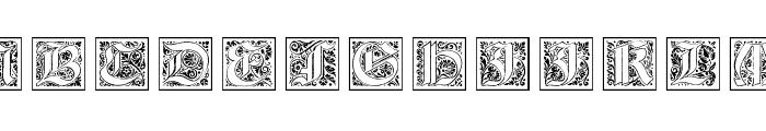 KaiserRotbartTwoCaps Font UPPERCASE