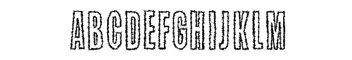 Kaktuspiste Font UPPERCASE