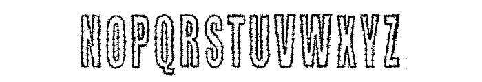 Kaktuspiste Font LOWERCASE