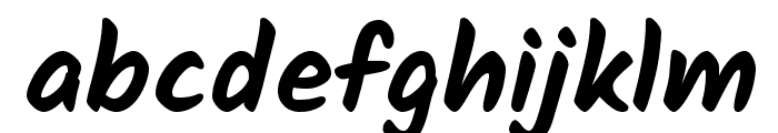 Kalam Bold Font LOWERCASE