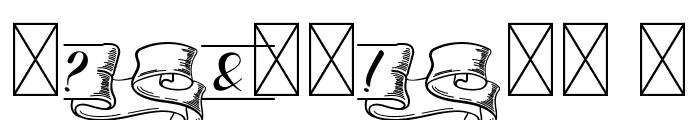 Kaldevaderibbon Font OTHER CHARS