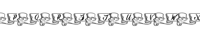 Kaldevaderibbon Font UPPERCASE