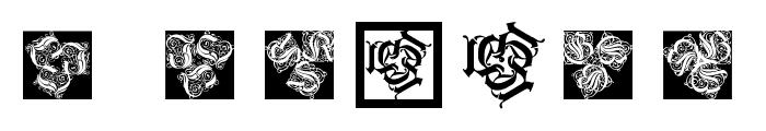 KaleidWieynckFrax Font OTHER CHARS