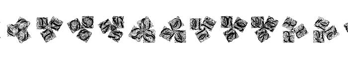 KaleidWieynckFrax Font UPPERCASE