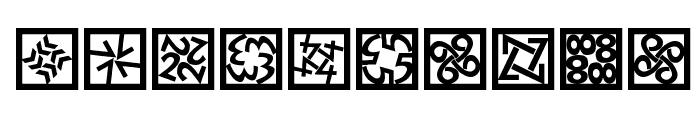 KaleidoQuattroInvers Font OTHER CHARS