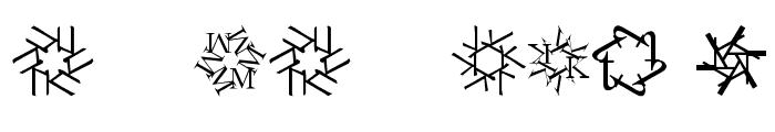 KaleidoTypesDrei Font OTHER CHARS
