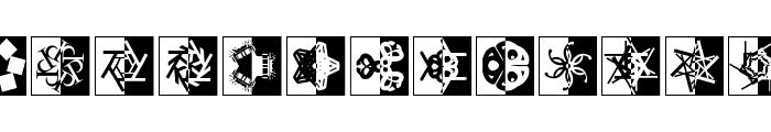 KaleidoTypesDrei Font LOWERCASE