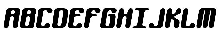 Kaliber Round BRK Font UPPERCASE