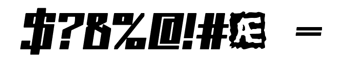 Kaliber Solid BRK Font OTHER CHARS
