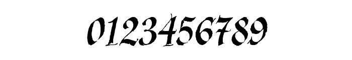 KaligrafLatin Font OTHER CHARS