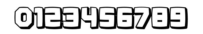 Kalinka Distorted 3D Regular Font OTHER CHARS