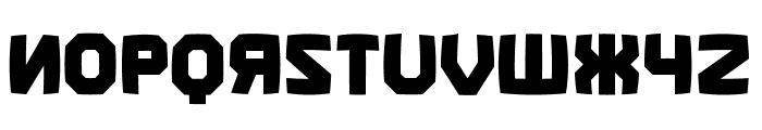 Kalinka Distorted Regular Font UPPERCASE