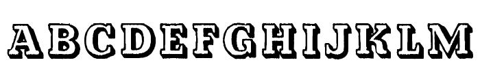Kalish Normal Font UPPERCASE