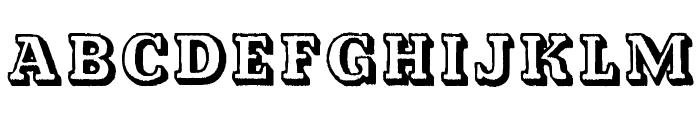 Kalish Normal Font LOWERCASE