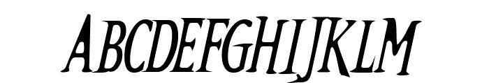 Kallamar  Italic Font UPPERCASE