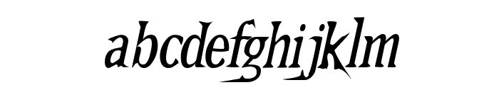 Kallamar  Italic Font LOWERCASE