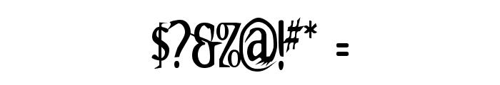 Kallamar Font OTHER CHARS