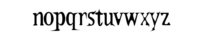 Kallamar Font LOWERCASE