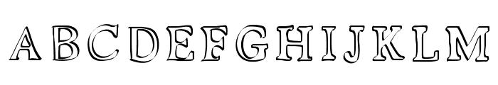 Kalligedoens Font UPPERCASE