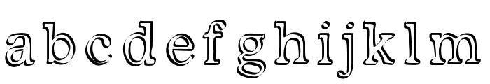 Kalligedoens Font LOWERCASE