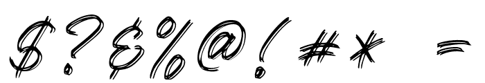 Kallisa Font OTHER CHARS